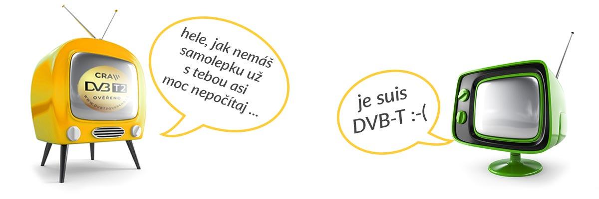 DVB-T končí ať žije DVB-T2