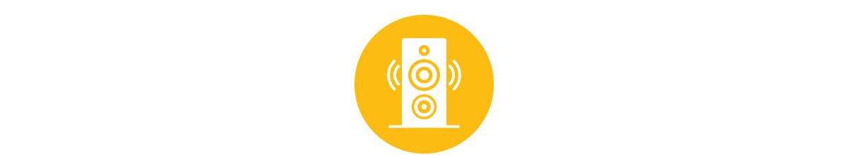 Audio video domácí kina, multiroom