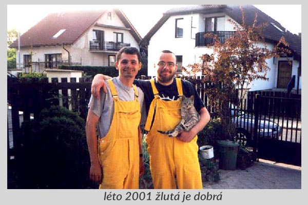 FÁZE s.r.o. léto 2001